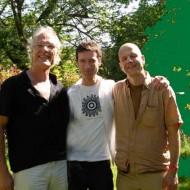 Drei illustre Männer - ein Team!