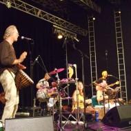 Am Rainbow mit den Singing Buddhas 2009
