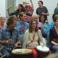 Grosses TamTam mit 120 Leuten am Rainbow Spirit Festival 2011