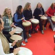 Mit Kiya bei unserem ersten 'Rhythm of Life' in Biarritz, Frankreich